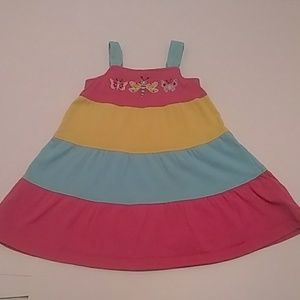 5 for $25 J khaki multicolored dress size 2T.